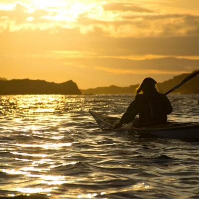Sea kayaking on the Scottish sea kayak trail