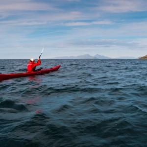 Ardnamurchan point sea kayaking.