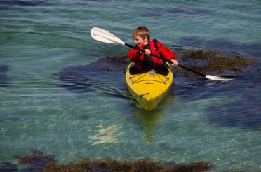 Family Sea Kayaking in Arisaig