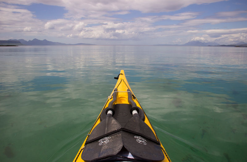 Arisaig sea kayaking